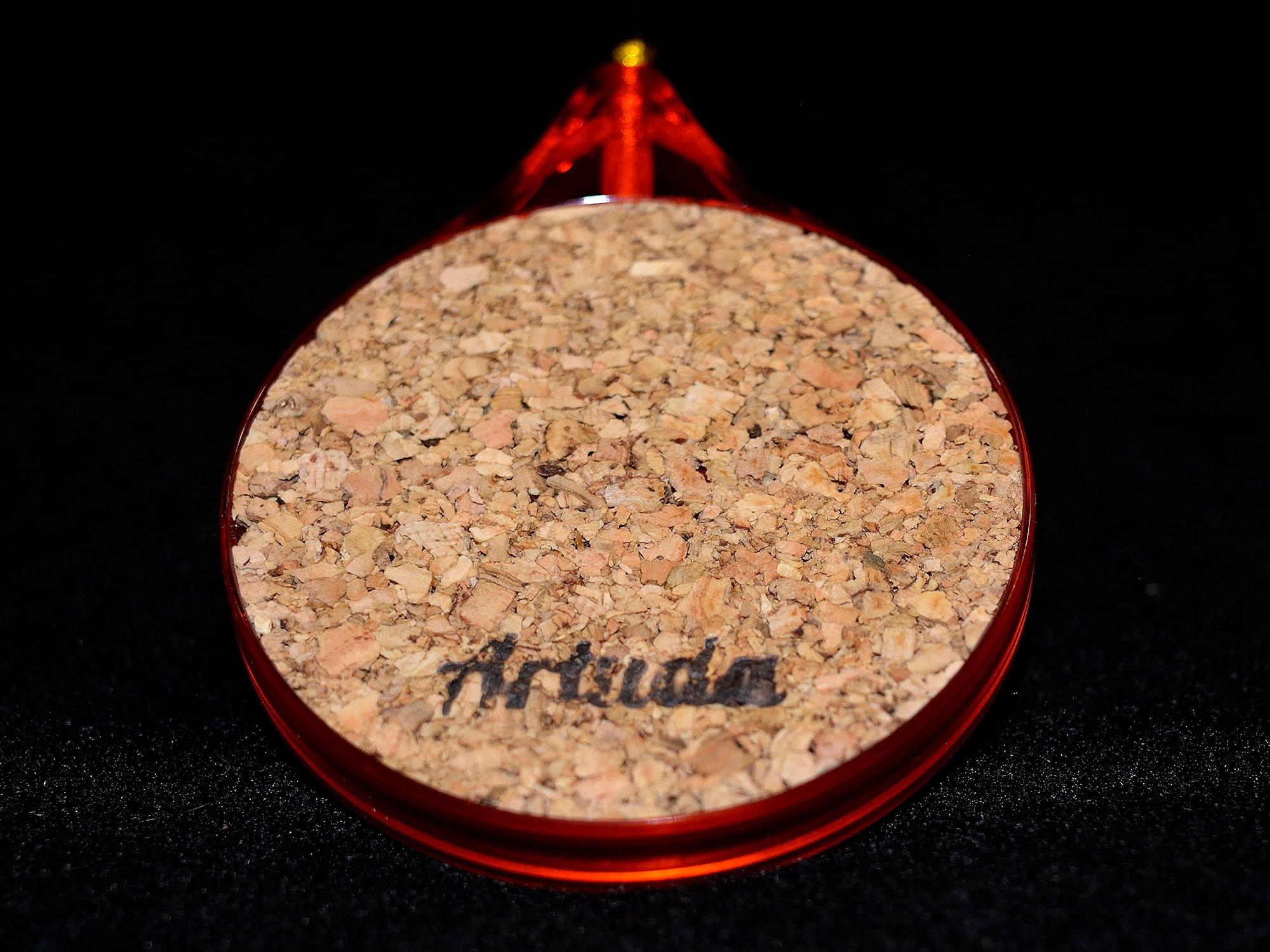 Зимняя удочка ручной работы для безкивкового блеснения окуня.