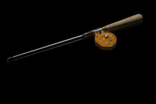 Зимняя удочка ручной работы Артуда Хардкор L оранжевая