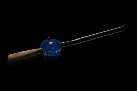 Зимняя удочка ручной работы Артуда Андерграунд синяя