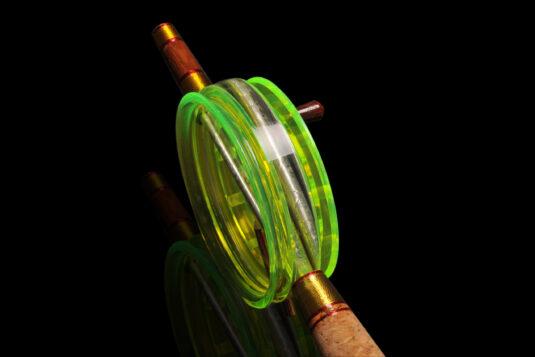 Зимняя удочка для ловли крупной хищной рыбы на тяжелые и средние балансиры и блесна, а также «серьезные» мормышки с подсадкой с больших глубин.