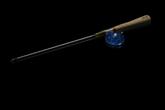 Зимняя удочка ручной работы Артуда Хардкор XL синяя