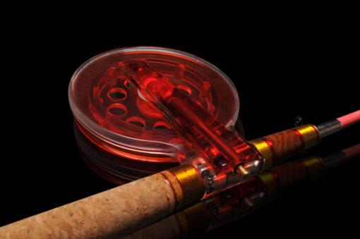 Зимняя удочка ручной работы для ловли трофейной хищной рыбы на тяжелые балансиры и блесна, а также «серьезные» мормышки с подсадкой.