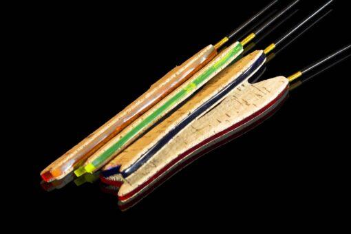 Зимняя удочка ручной работы обладает самой большой мощностью, жёсткостью и, естественно, весом.