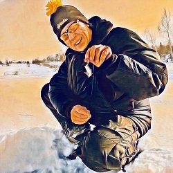 Обучение ловле на зимнюю блесну с Алексеем Бенюшем