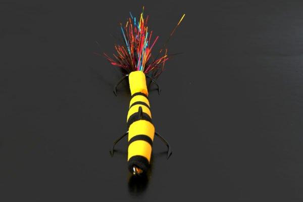 Мандула ручной работы Игоря Кудинова, размер - 9 см, крючки - VMC Barbarian
