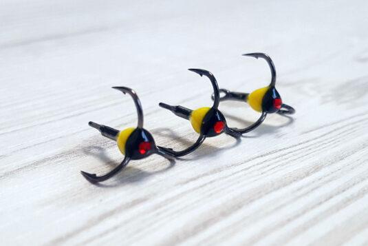 Крючки для зимних блесен