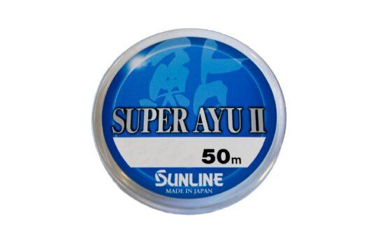 Леска Sunline Super AYU 50m - высококлассная, тонкая леска.