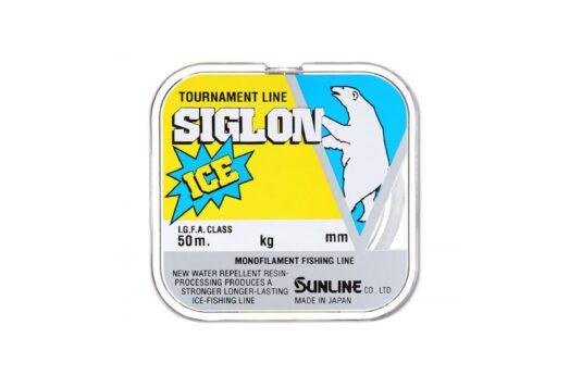 SUNLINE SIGLON V ICE — специализированная нейлоновая леска для зимней рыбалки