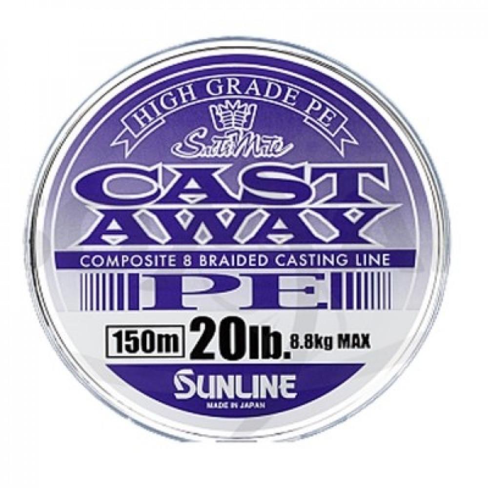Шнур Sunline Cast Away 2016 PE 150m