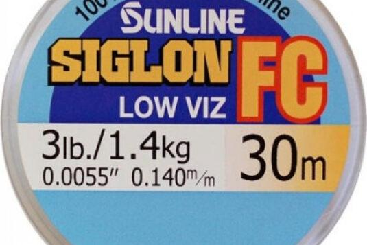 SUNLINE FC SIGLON – специальный поводковый флюорокарбон, который как нельзя лучше подходит для использования его в качестве не только поводка, но и шоклидера